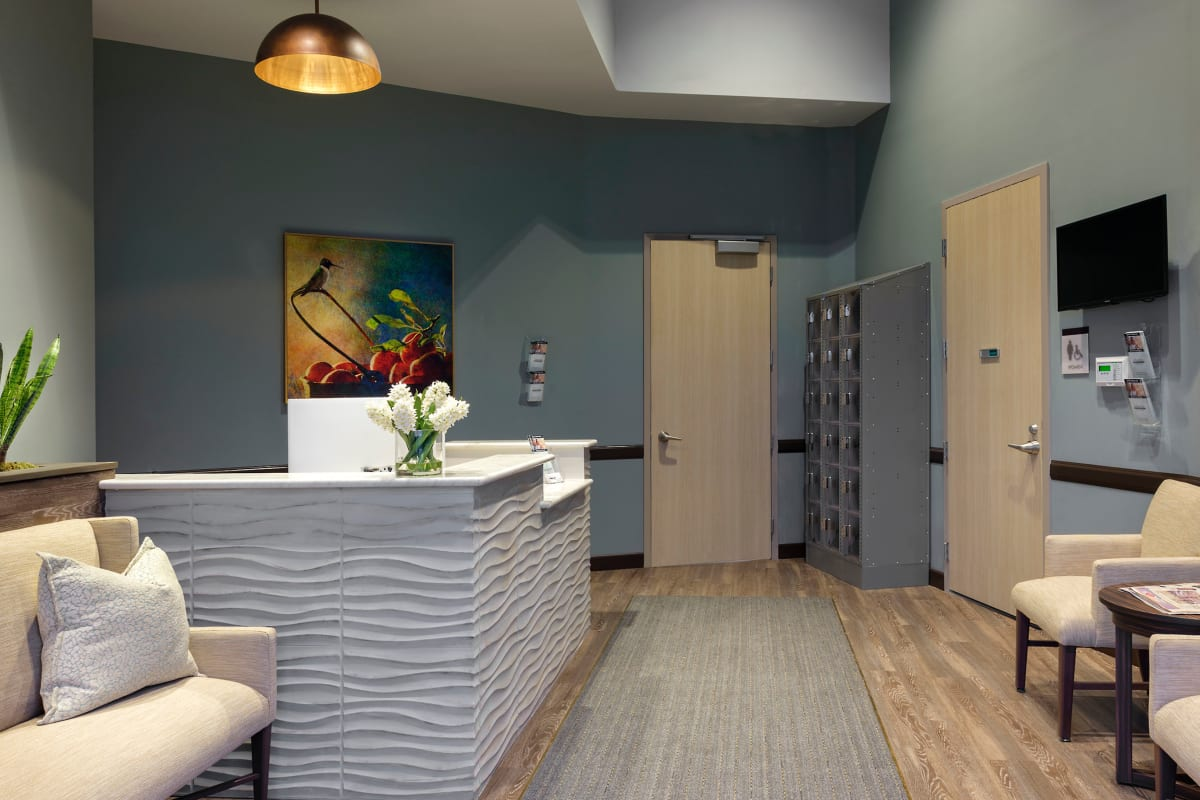 The common area at Avenir Behavioral Health Center in Surprise, Arizona.