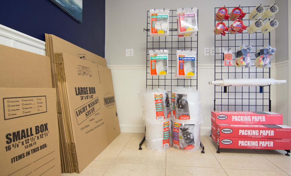 Locked storage unit at Prime Storage in Marco Island, Florida