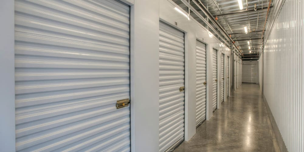 Indoor climate controlled units at StorQuest RV & Boat Storage in Littleton, Colorado
