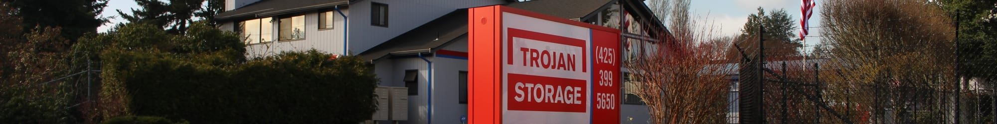 Hours and directions to Trojan Storage in Everett, Washington
