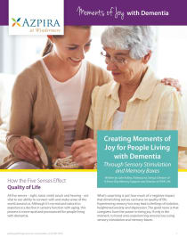 Moments of Joy with Dementia
