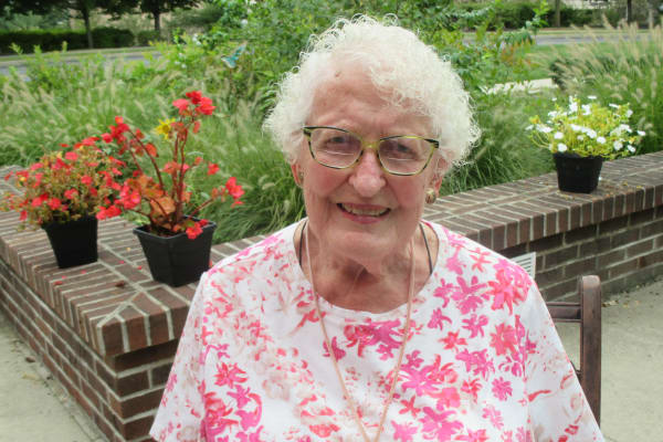 Nancy DuPeza at Sterling Heights Gracious Retirement Living in Bethlehem, Pennsylvania