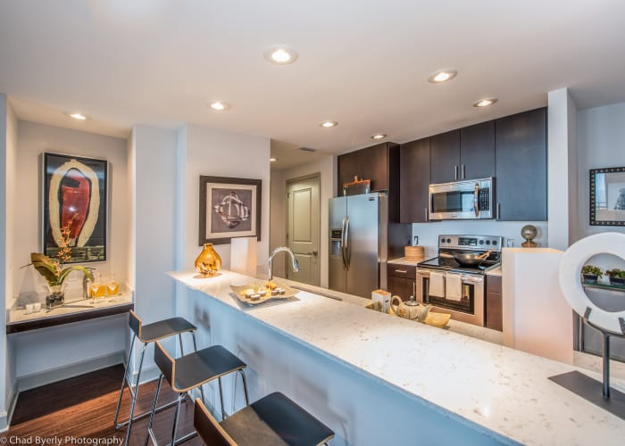 Gorgeous Skyloft floor plans at 55 West Apartments