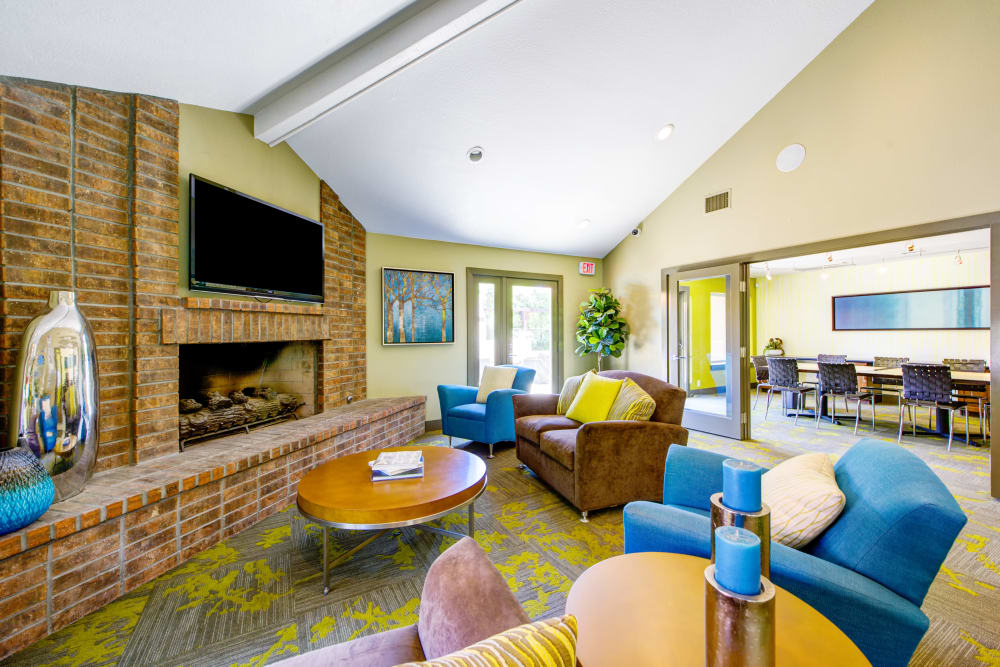 Clubhouse interior at Alvista Terrace