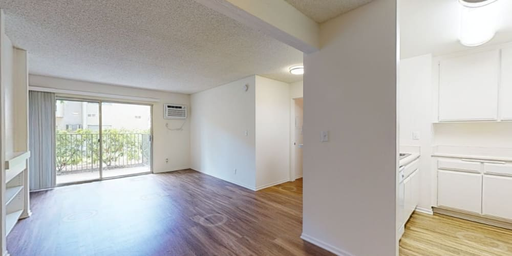 View a virtual tour of our 1 bedroom apartment homes at Village Pointe in Northridge, California