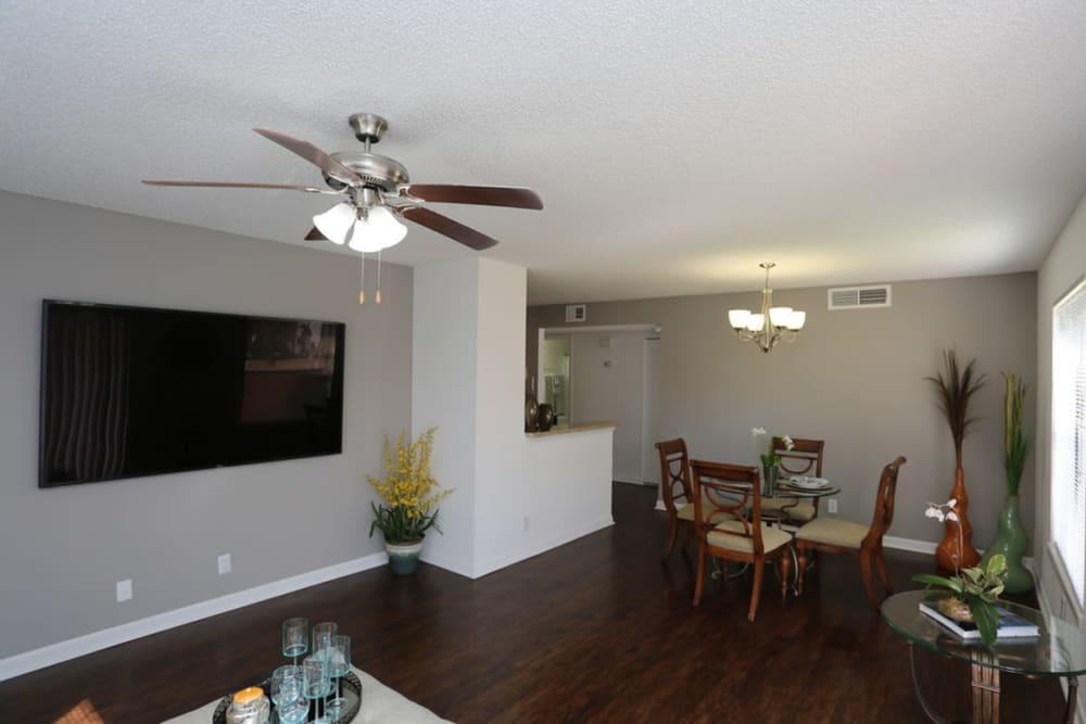 Spacious floor plan at Savannah Place Apartments & Townhomes in Boca Raton, Florida