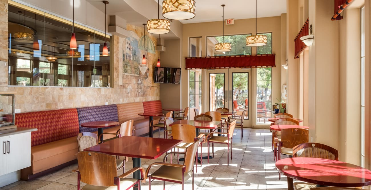 On-site pub at McDowell Village in Scottsdale, Arizona