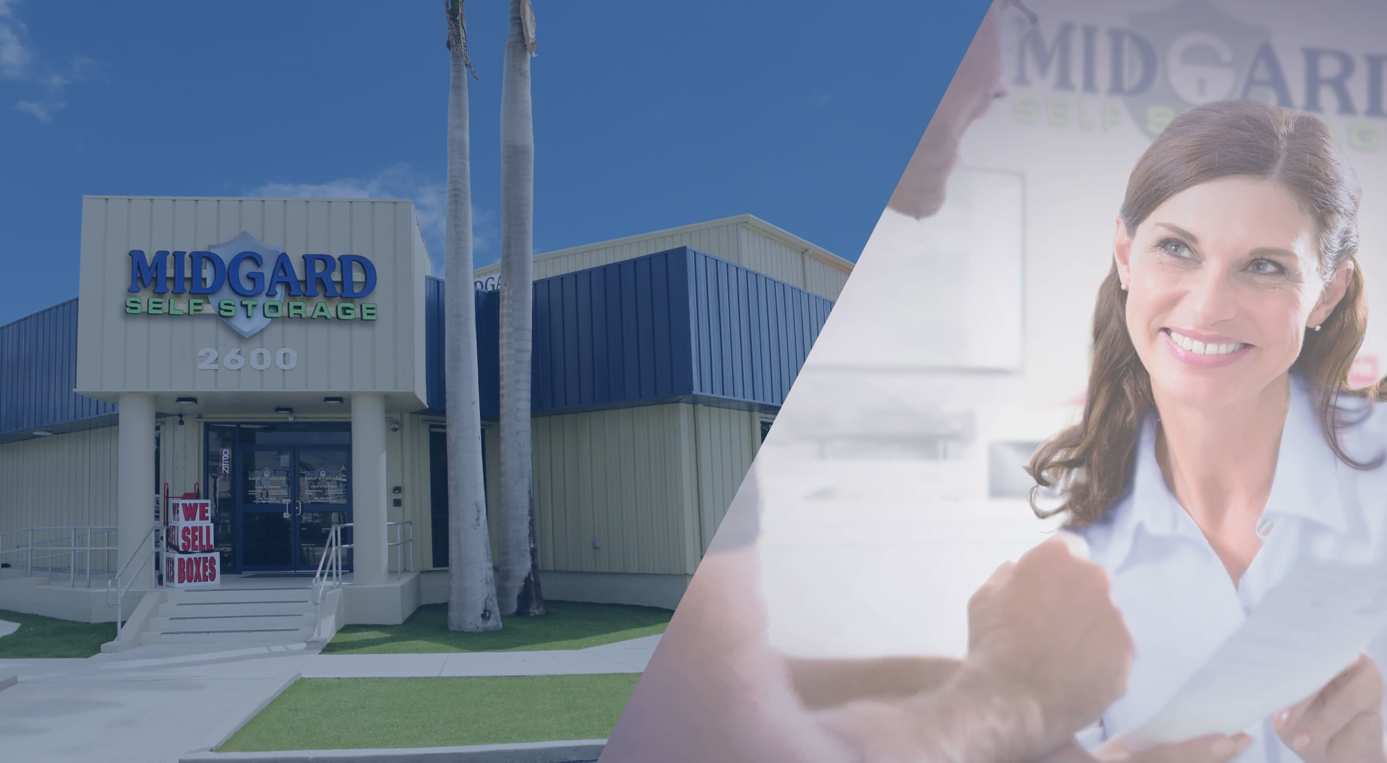 Self storage at Midgard Self Storage in Key West, Florida
