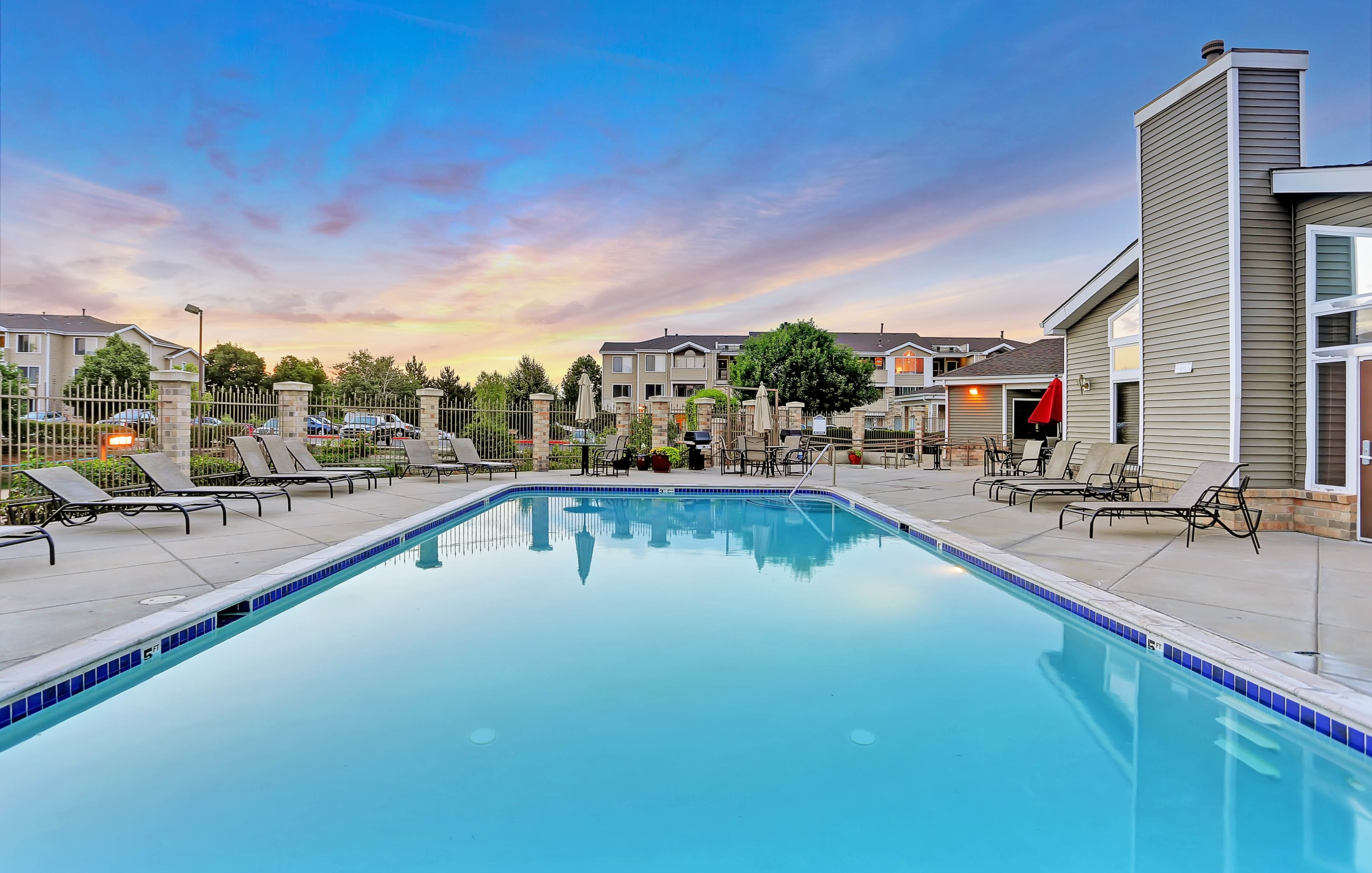 Our Apartments in Fort Collins, Colorado offer a Swimming Pool