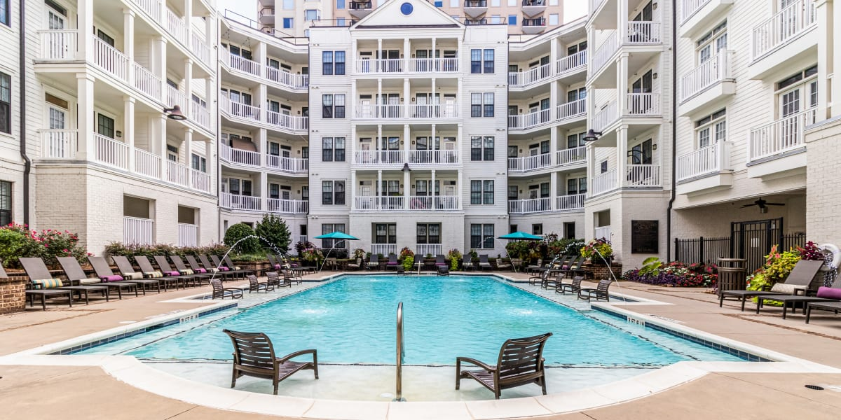 Poolside at CWS Apartment Homes in Austin, Texas