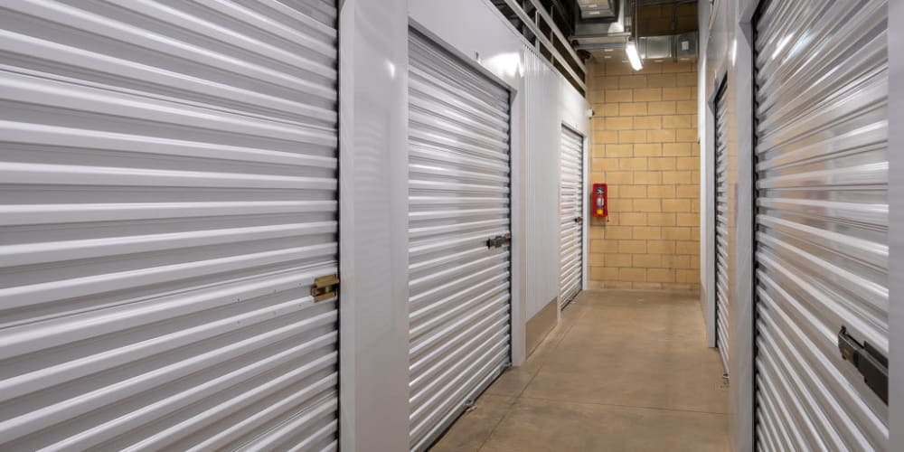 Indoor climate controlled units at StorQuest Self Storage in Richmond, California