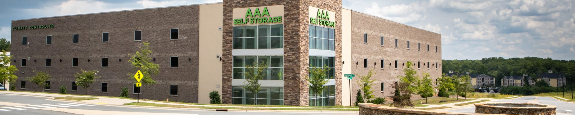 Free truck rental at AAA Self Storage at Jag Branch Blvd in Kernersville, NC