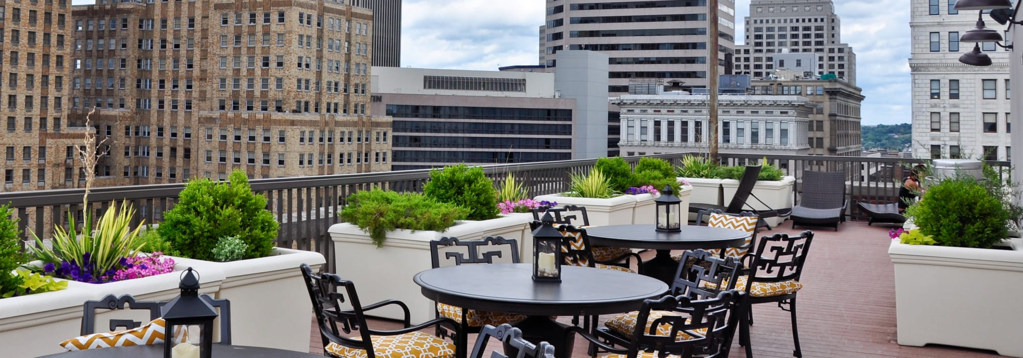 Rooftop at The Reserve at 4th and Race in Cincinnati