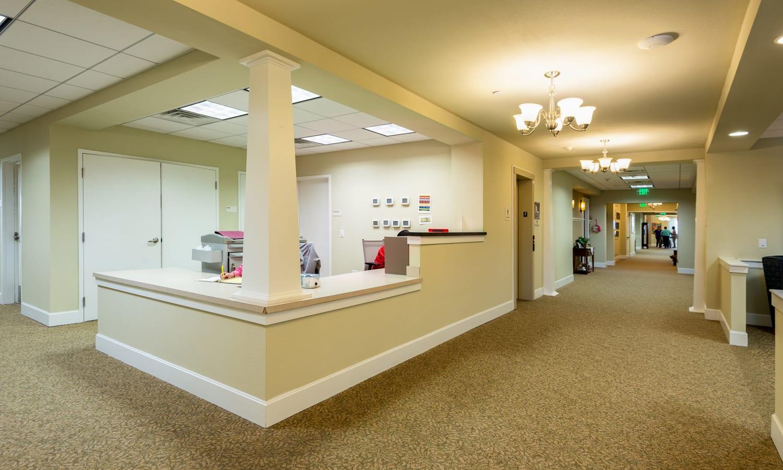 Activity center inside MacArthur Hills in Irving, Texas