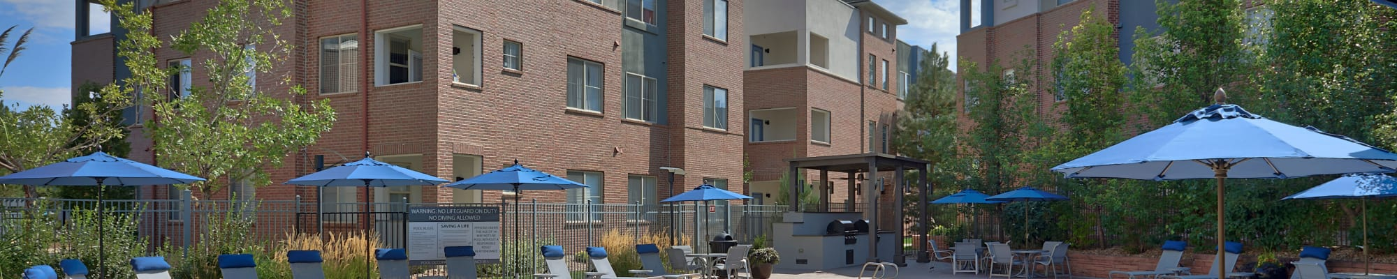 Schedule a tour to view our apartments in Englewood, CO