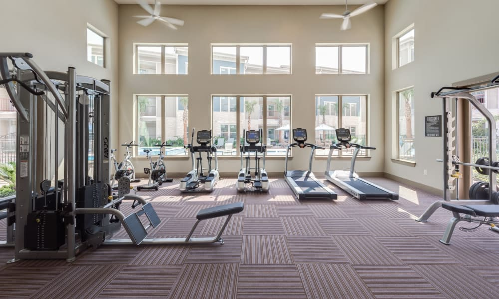 Fitness center at 91 Fifty