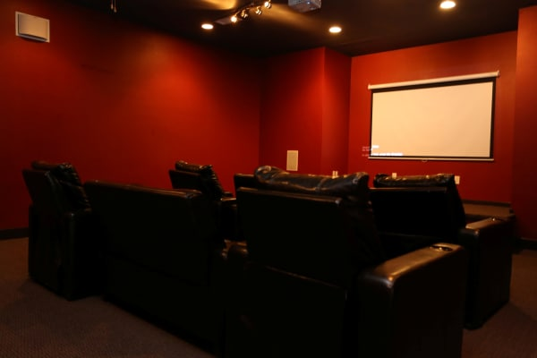 Mini theater at Cornerstone Ranch Apartments in Katy, Texas