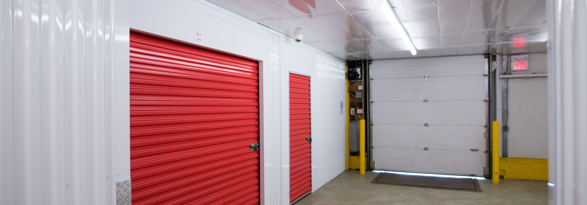 Units inside of Apple Self Storage - Newmarket in Newmarket, Ontario