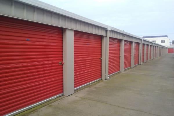 Self storage units for rent at Trojan Storage in Sacramento, California