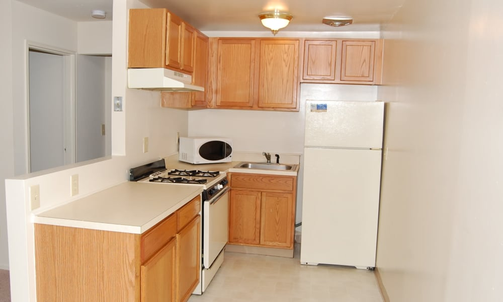 Kitchen at Ocean Terrace Apartment Homes in Long Branch, NJ