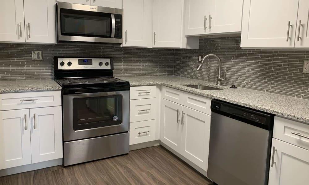 Kitchen at Lumberton Apartment Homes
