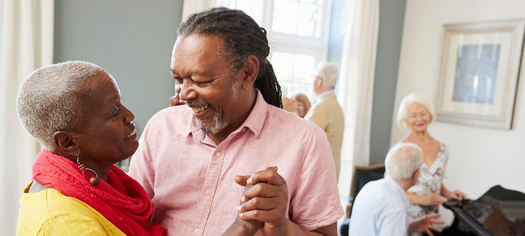 马里兰州贝塞斯达的老年人住在Meridian老年生活中心188金宝搏手机登录网址金博app188金宝慱图片