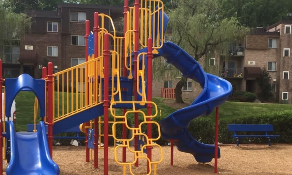Playground at apartments in Glen Burnie, Maryland
