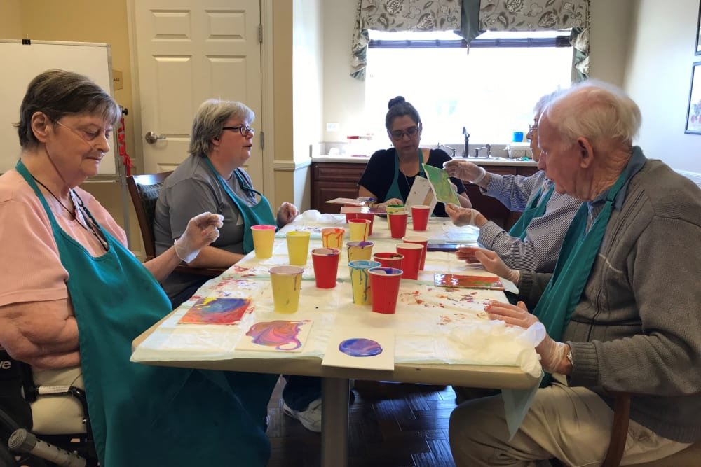 Arts and Crafts at Eastern Star Masonic Retirement Campus in Denver, CO