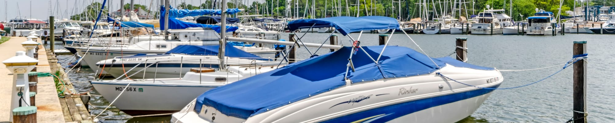 Watergate Pointe Marina at Watergate Pointe in Annapolis, Maryland