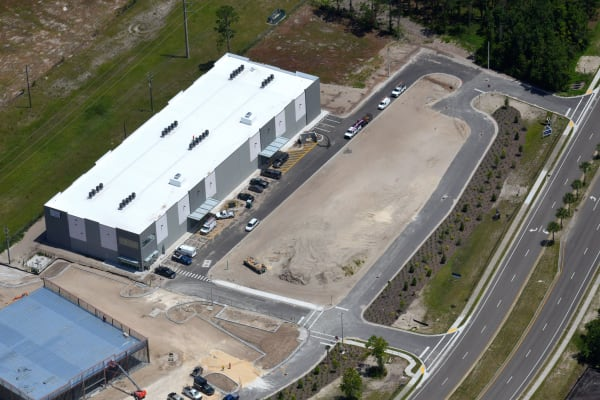 Overview of My Neighborhood Storage Center in Jacksonville, Florida