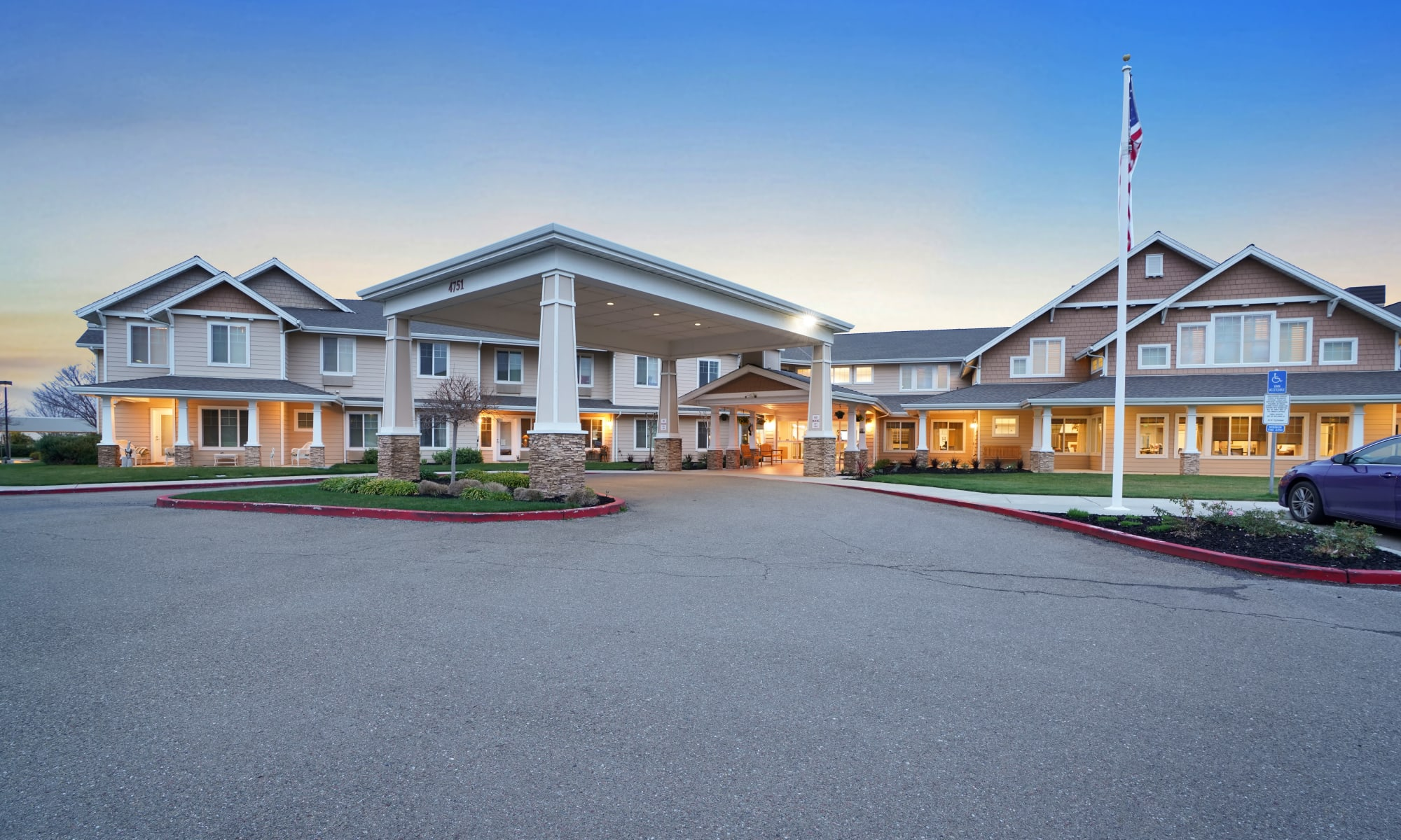 The Commons at Dallas Ranch senior living in Antioch, California