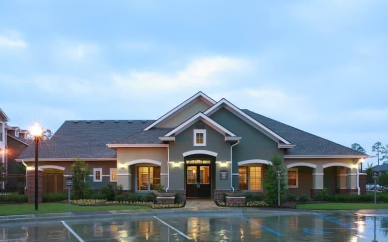 Palmetto Greens Apartment Homes clubhouse in Covington, Louisiana