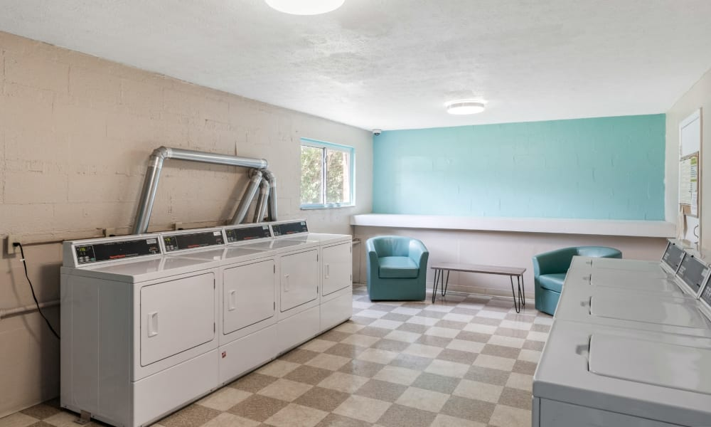 Expansive Laundry Facility at Centennial Woods Apartments in Cincinnati, Ohio
