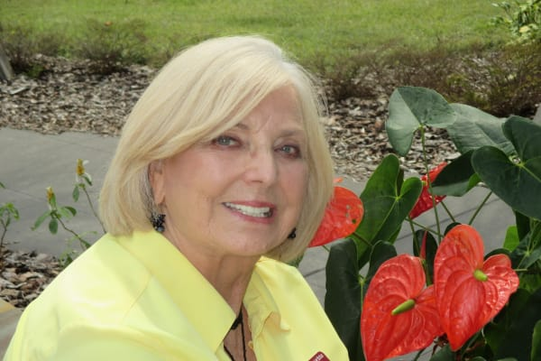 Mary Jo Greenwood at Orchard Heights Gracious Retirement Living in Clermont, Florida