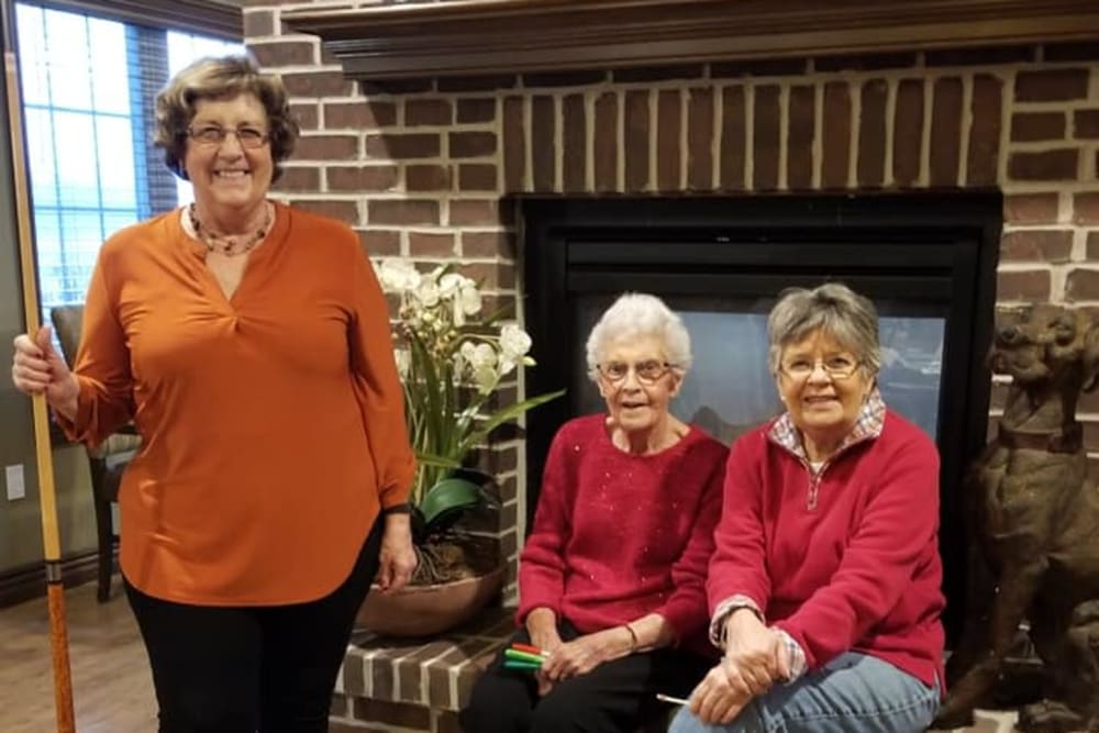 Residents at Villas of Holly Brook Shelbyville in Shelbyville, Illinois
