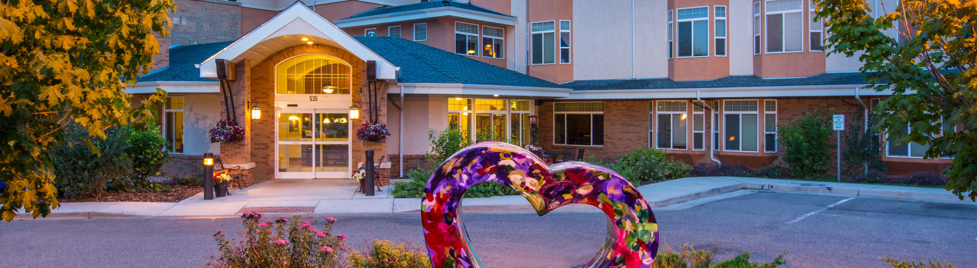 Our community at Hillcrest of Loveland in Loveland, Colorado