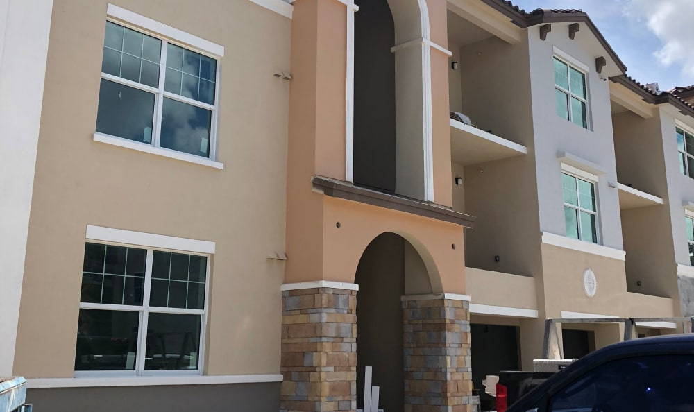 Resident's building at Luma at Miramar in Miramar, Florida