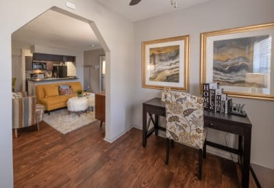 Spacious clubhouse at Trails of Towne Lake in Irving, Texas