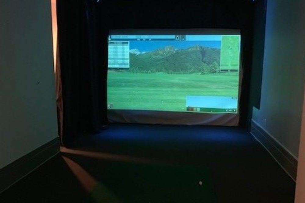 Golf Simulator  at Spyglass