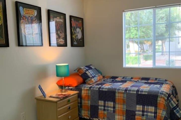 Bedroom example at Sunrise Springs Apartments in Las Vegas, Nevada