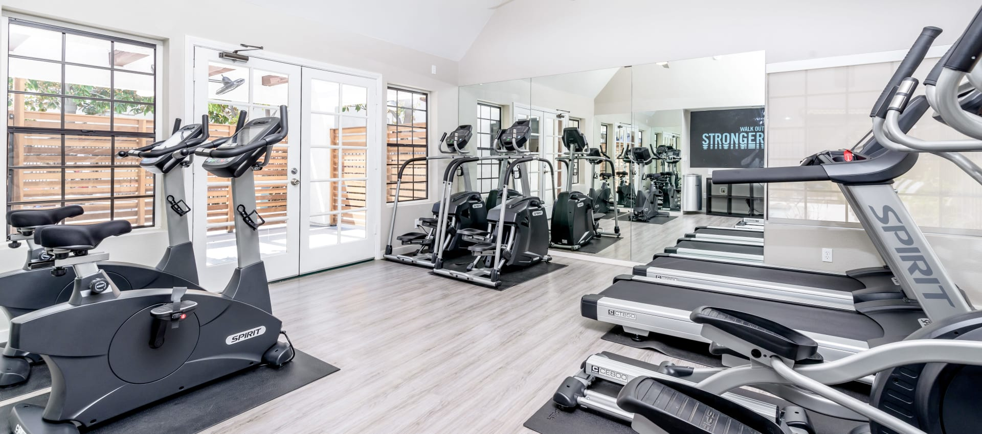 Fitness center at Sonora at Alta Loma in Alta Loma, California