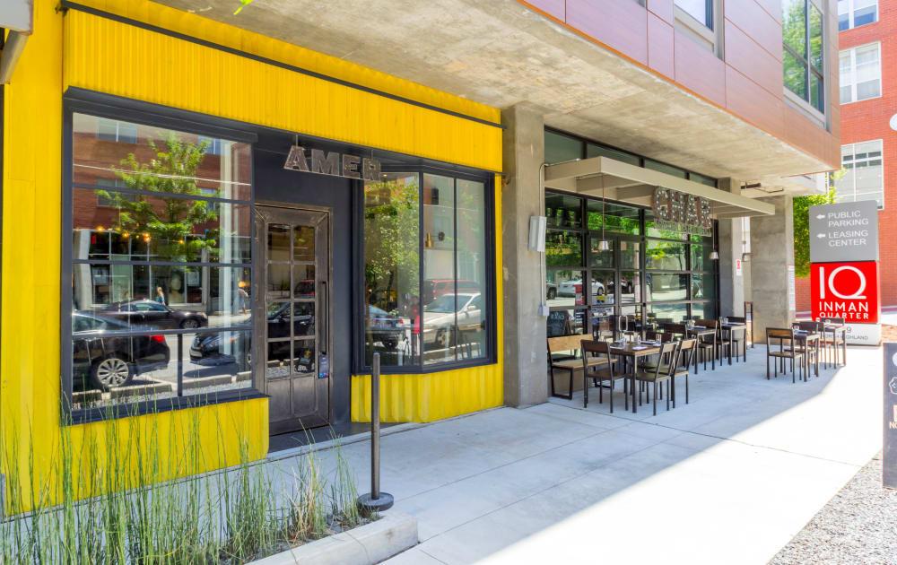 Restaurant near Inman Quarter in Atlanta, Georgia