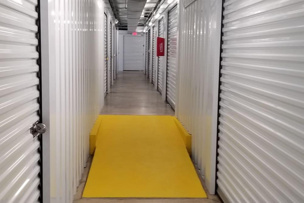 Clean self storage units at All Seasons Self Storage in Wilmington,North Carolina