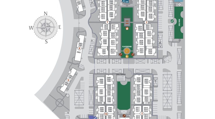 Aviva site plan