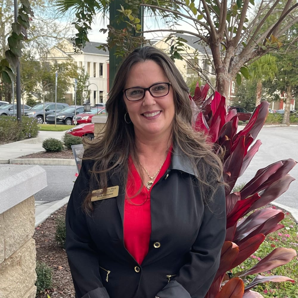 Beth, Executive Director at Keystone Place at Terra Bella in Land O' Lakes, Florida.
