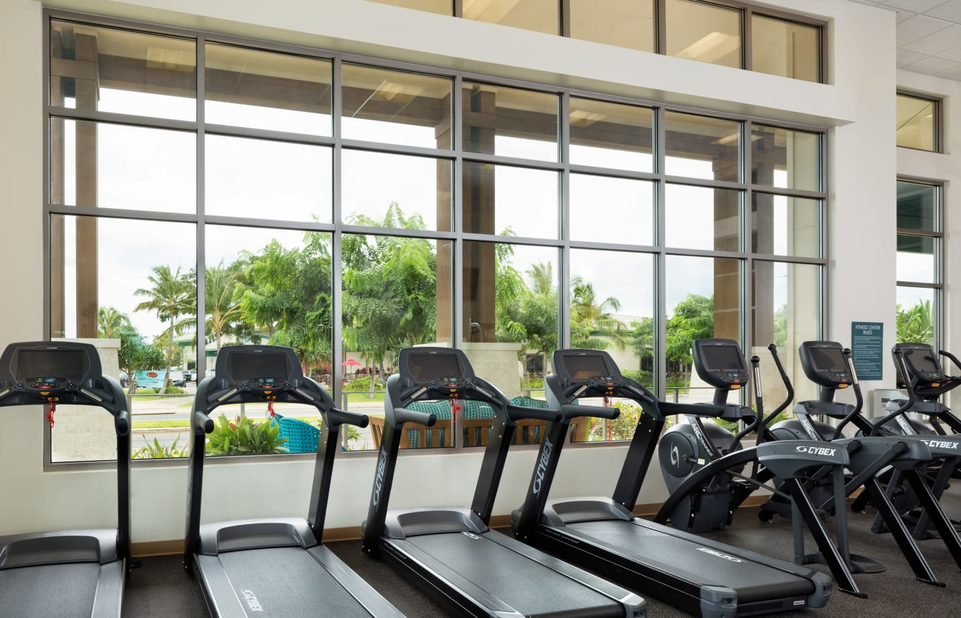 Well-equipped fitness center at Kapolei Lofts in Kapolei, HI