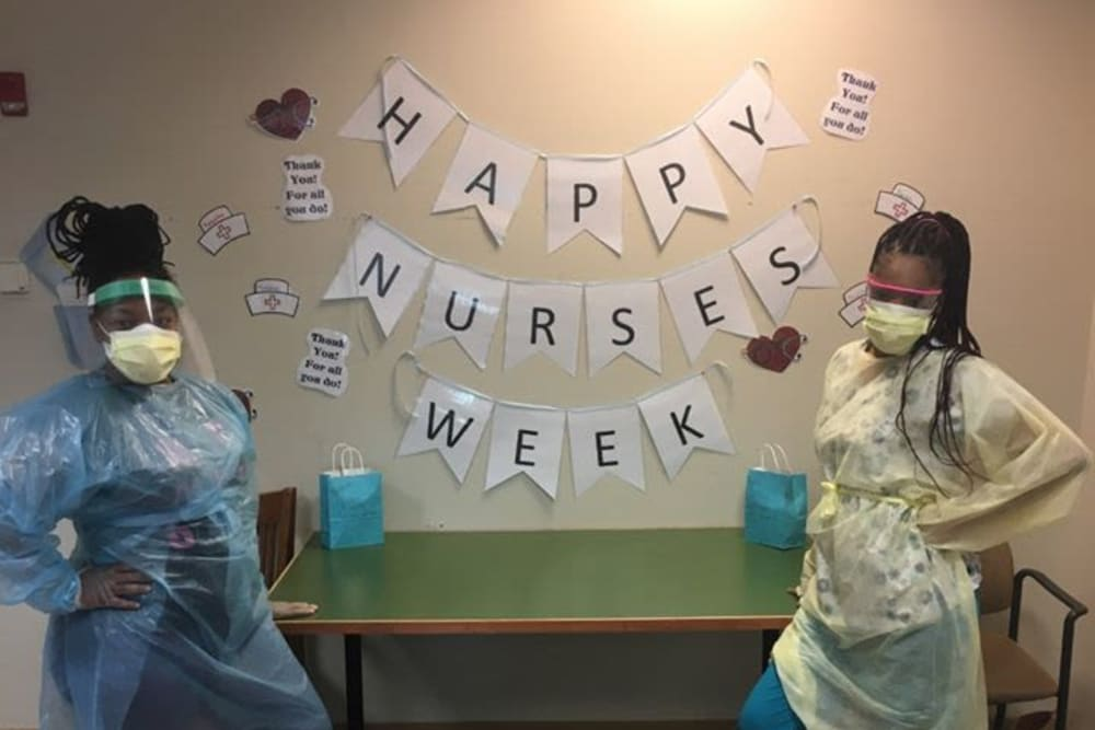 Nurses week at Victory Centre of Sierra Ridge