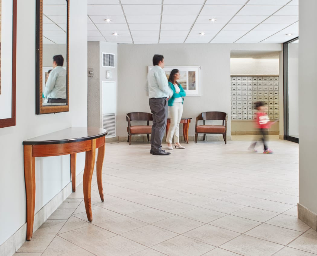 Front lobby area featuring mail room at 8 Silver Maple Court in Brampton, Ontario