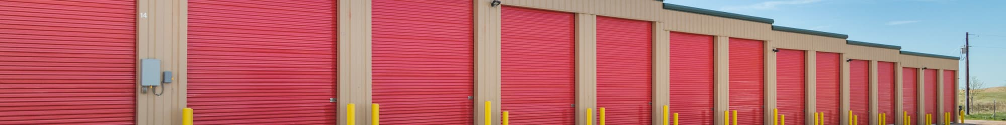 Unit Sizes & Prices at Smart Space Self Storage - Stetson Hills in Colorado Springs, Colorado