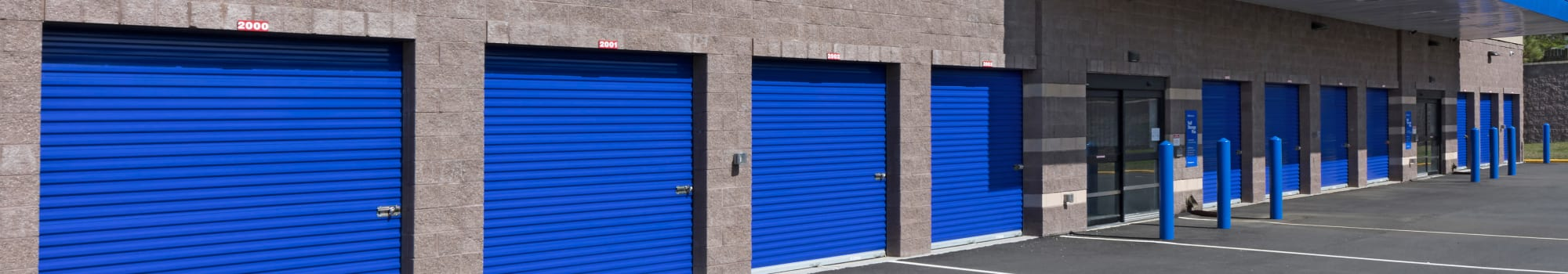 Self Storage Plus in Lorton, Virginia offering climate-controlled storage